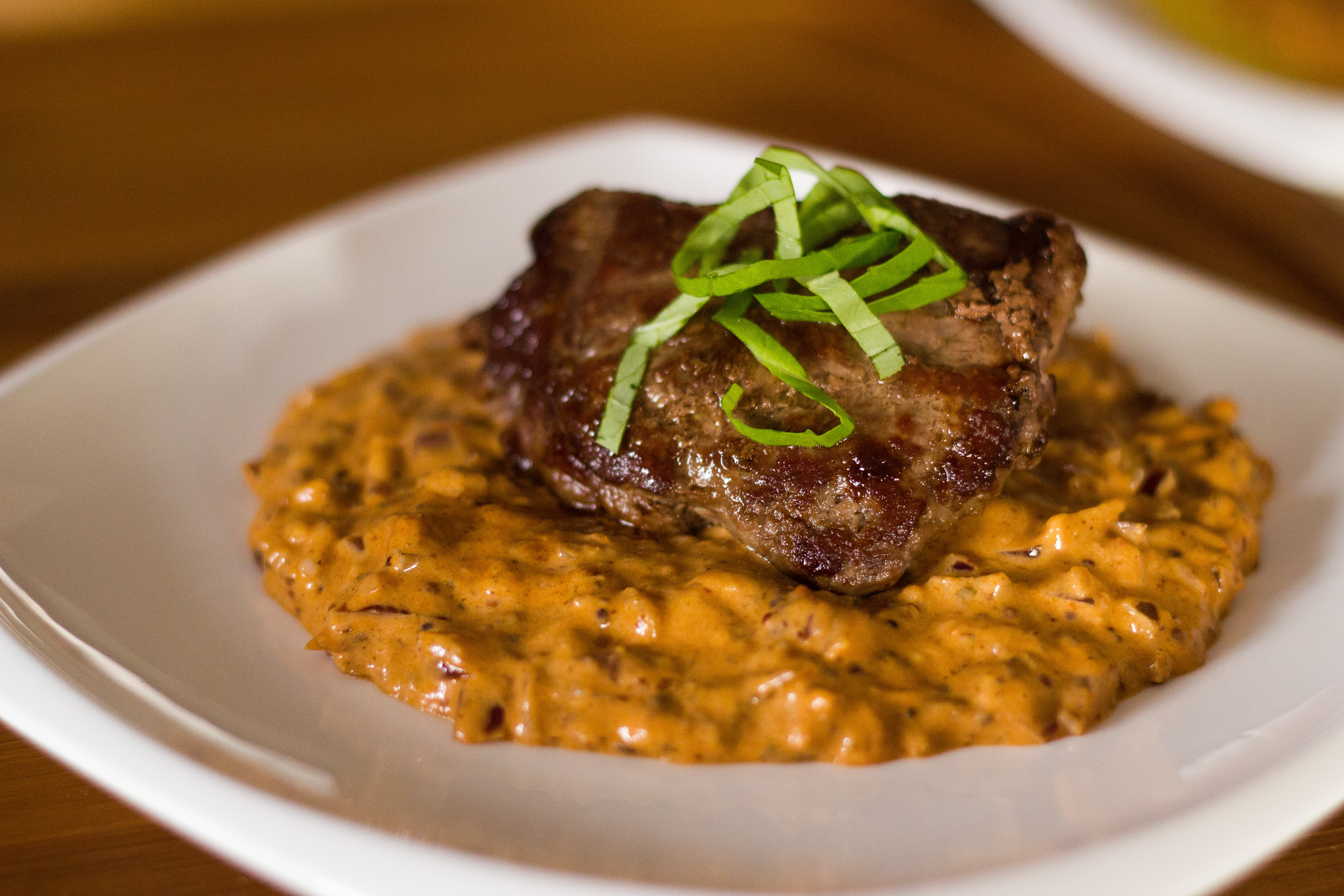 Venison Steak Diane with a Facelift - Dedicated to Hunters ...