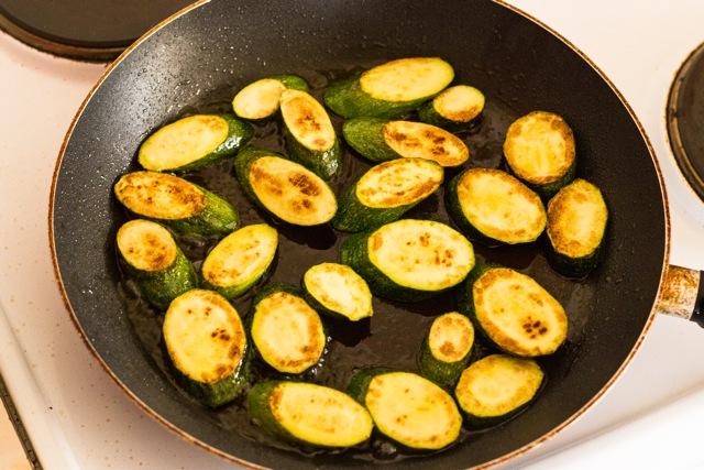 Warm Zucchini Salad