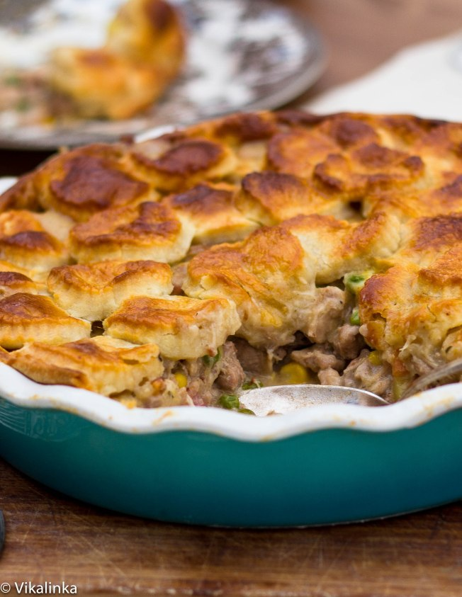 Rabbit and Pheasant Pie