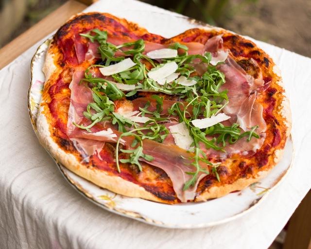 Proscuitto di Parma Pizza