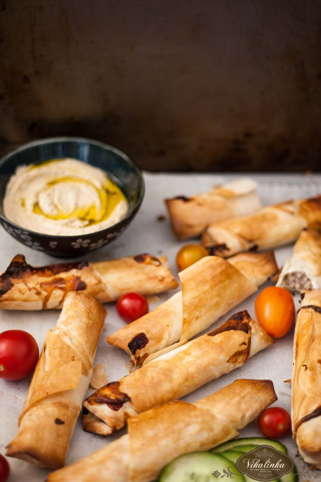 Spicy Turkey and Filo Burek