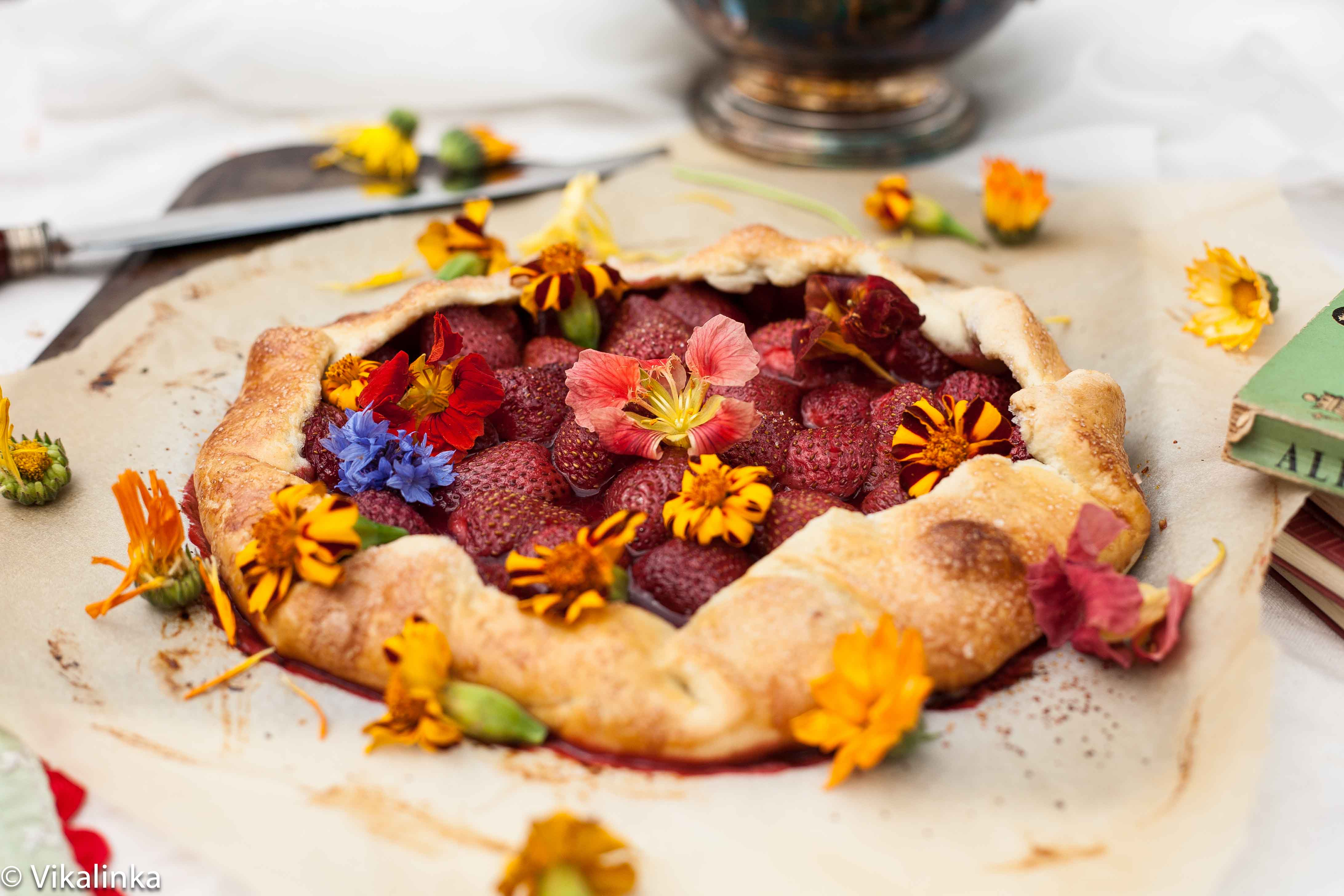 Strawberry Meadow Galette