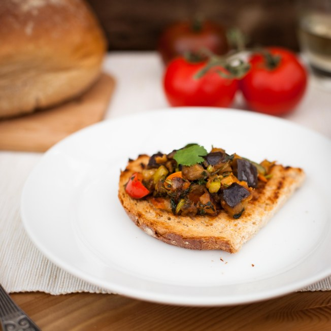 French Ratatouille or Russian Eggplant Caviar
