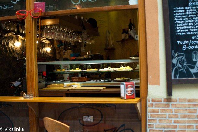 Tapas bar in Valencia