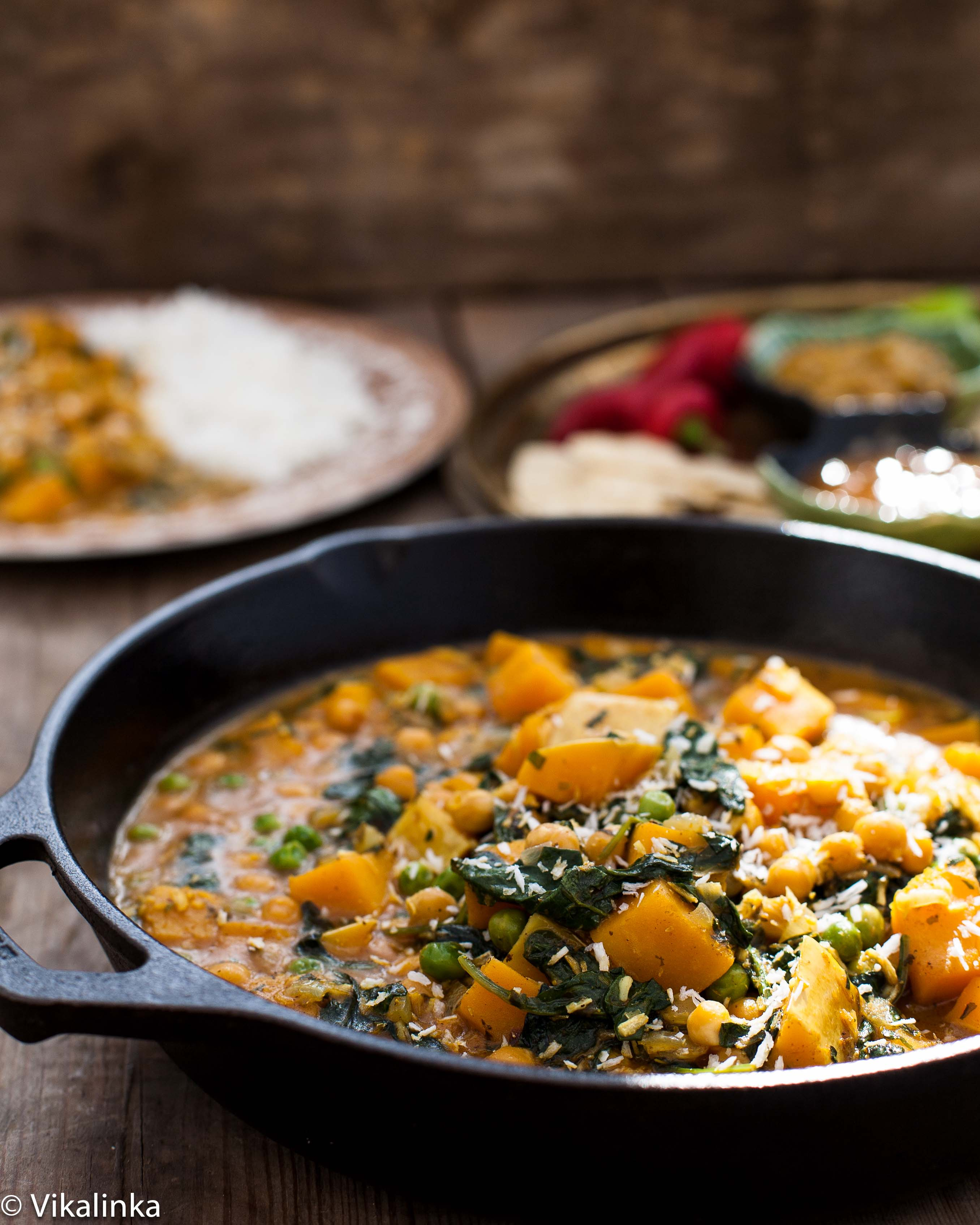 Chickpea and butternut squash curry vikalinka chickpea and butternut squash curry forumfinder Gallery