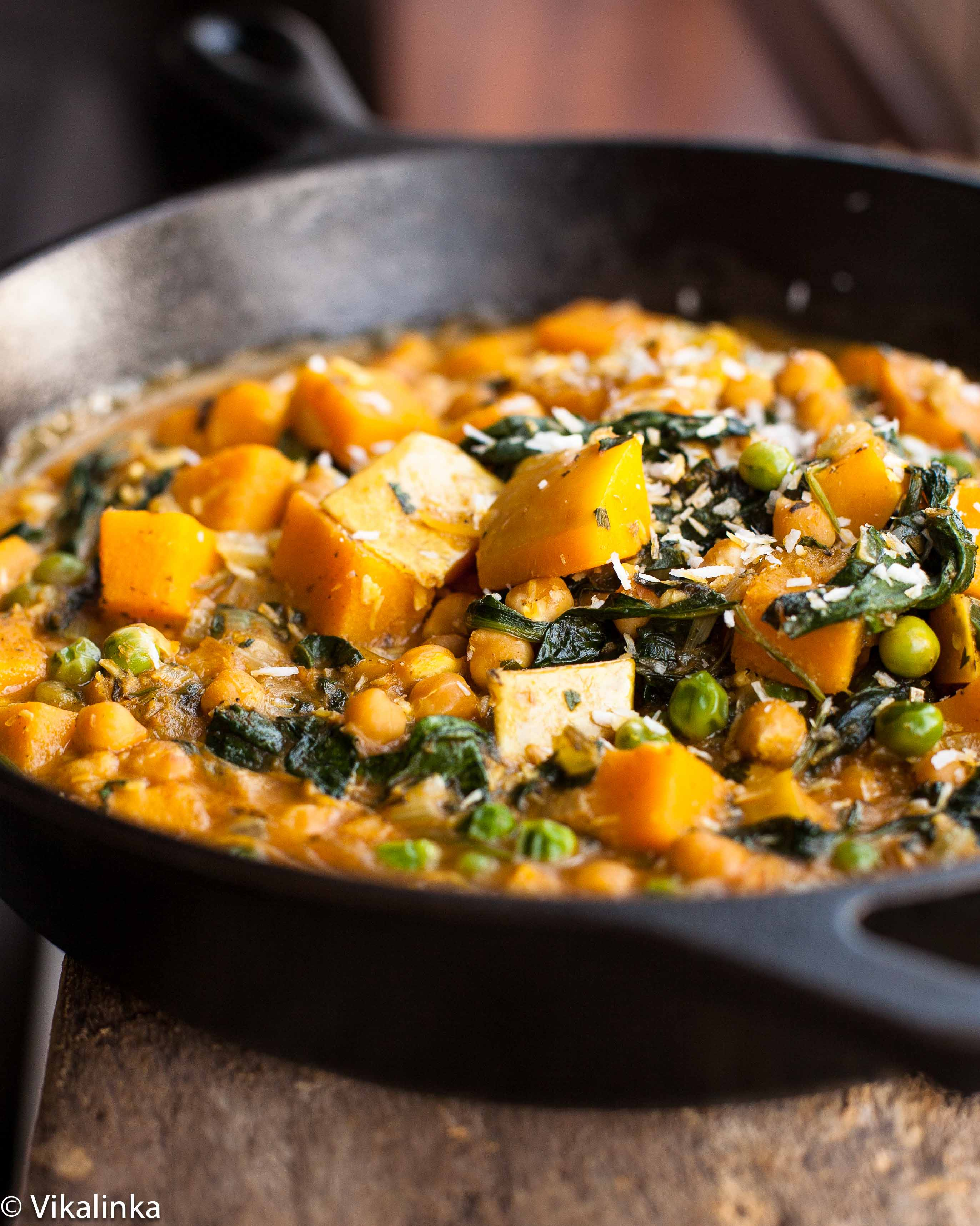 Chickpea and butternut squash curry vikalinka chickpea and butternut squash curry chickpea and butternut squash curry forumfinder Images