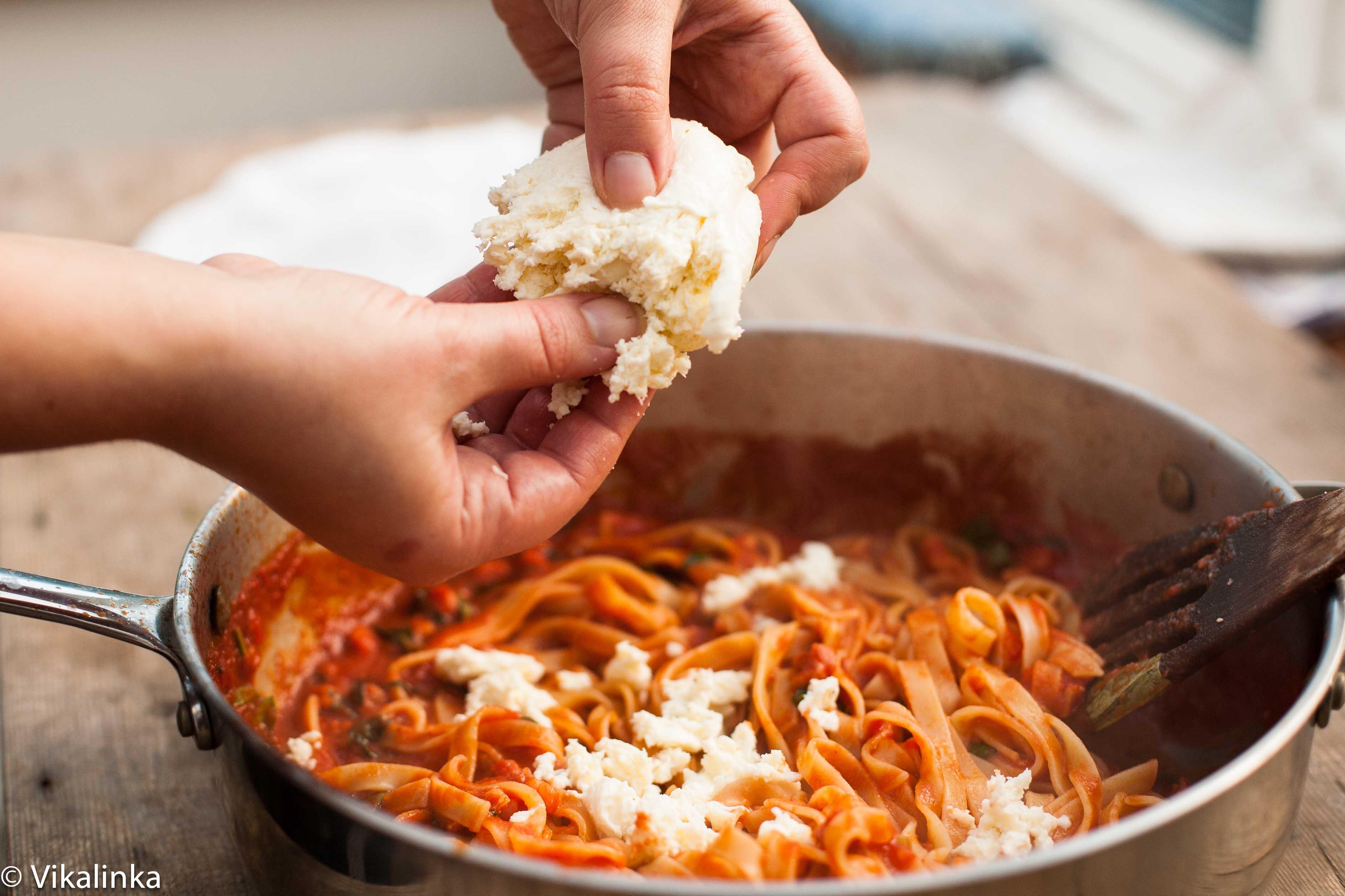 Pasta mozzarella recipes
